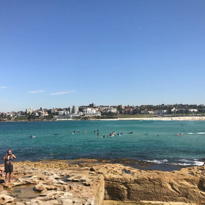 Bondi Beach from the rocks